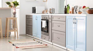 tapetes perfeitos para sua cozinha