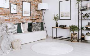 decorar a sala com tapetes